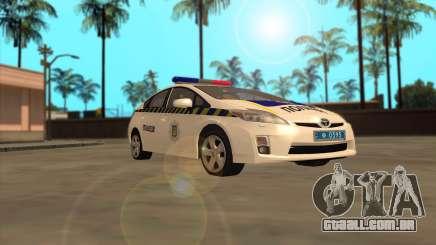 Toyota Prius Polícia Da Ucrânia para GTA San Andreas