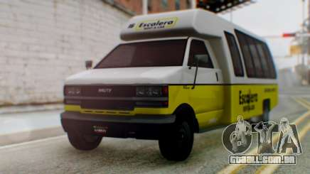 GTA 5 Rental Shuttle Bus Escalera Livery para GTA San Andreas