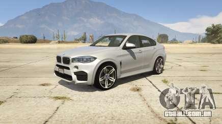 BMW X6M F16 Final para GTA 5