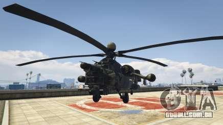 Mi-28 caçador de Noite para GTA 5
