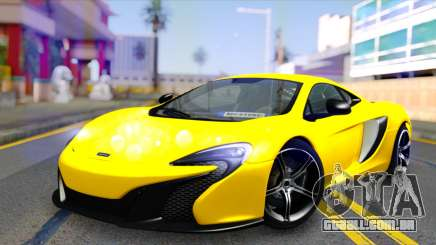 McLaren 650S Coupe para GTA San Andreas