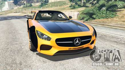 Mercedes-Benz AMG GT 2016 [LibertyWalk] para GTA 5