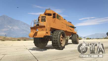 Monster Train para GTA 5