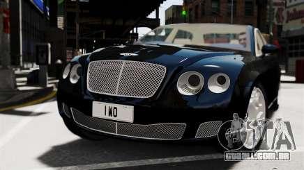 Bentley Continental 2010 Flying Spur Beta para GTA 4