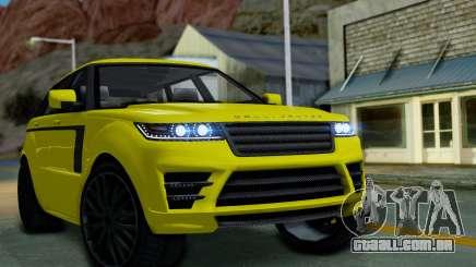 GTA 5 Gallivanter Baller LE para GTA San Andreas