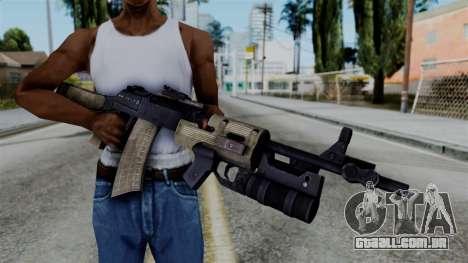 CoD Black Ops 2 - AN-94 para GTA San Andreas terceira tela