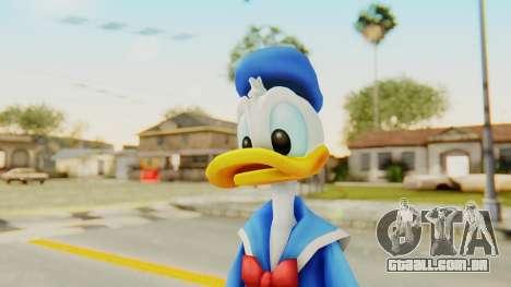 Kingdom Hearts 2 Donald Duck v1 para GTA San Andreas