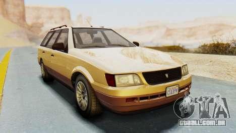 GTA 5 Vulcar Ingot para GTA San Andreas vista direita