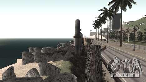 Road repair Dos Santos - Las Venturas. para GTA San Andreas décima primeira imagem de tela
