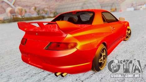 Mitsubishi FTO GP 1998 Version R para GTA San Andreas esquerda vista