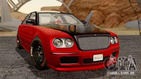 GTA 5 Enus Cognoscenti 55 Arm para GTA San Andreas