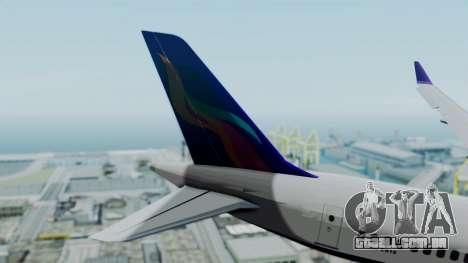 C919 UrumqiAir para GTA San Andreas traseira esquerda vista