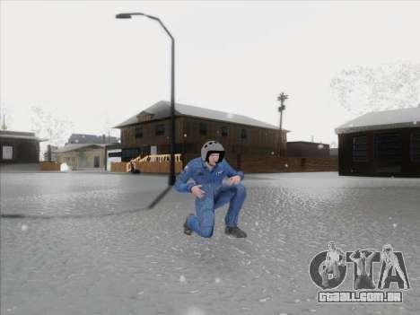 O piloto VC da Federação russa para GTA San Andreas terceira tela