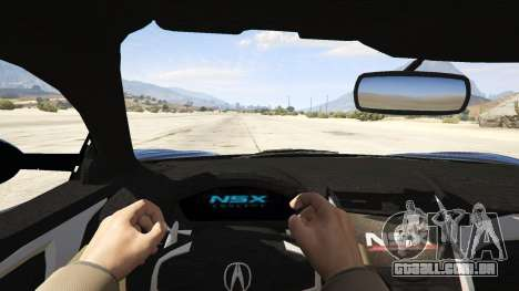 Acura NSX 2015 para GTA 5