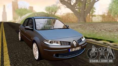Renault Megane CPJ para GTA San Andreas vista direita