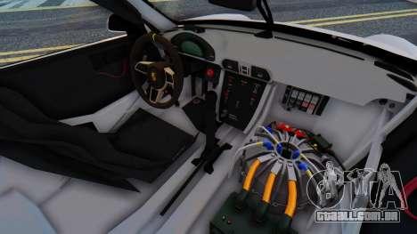 Porsche 911 GT3 Cup para GTA San Andreas vista traseira