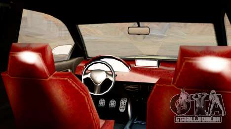 GTA 5 Enus Cognoscenti 55 IVF para GTA San Andreas traseira esquerda vista