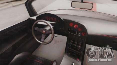 GTA 5 Bravado Banshee 900R IVF para GTA San Andreas vista traseira