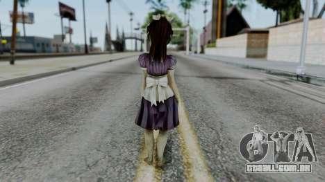 Bioshock 2 - Little Sister para GTA San Andreas terceira tela