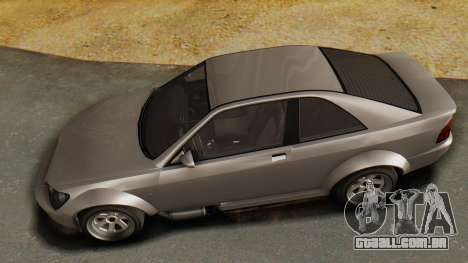 GTA 5 Karin Sultan RS para GTA San Andreas vista traseira