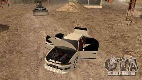 Mitsubishi Galant VR-4 (2JZ-GTE) para GTA San Andreas vista direita