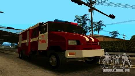 ZIL-5301 para GTA San Andreas vista interior