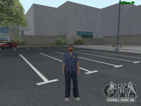 A pele do trabalhador IZH Reparação de automóvei para GTA San Andreas