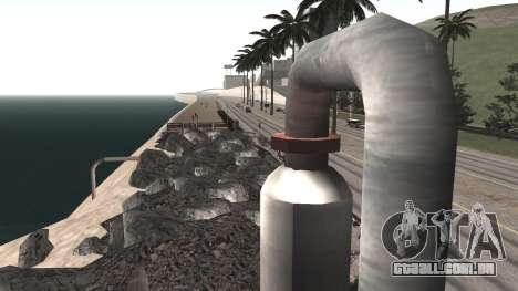 Road repair Dos Santos - Las Venturas. para GTA San Andreas sexta tela