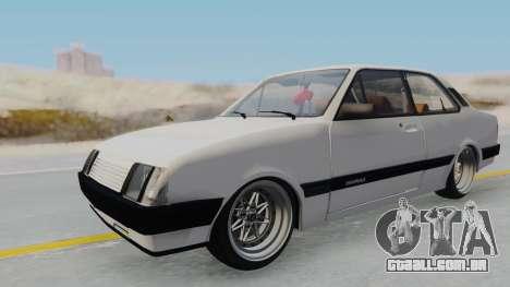 Chevrolet Chevette Stance para GTA San Andreas vista direita