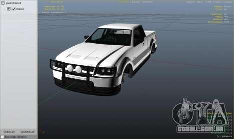 GTA 5 GTA 4 Contender vista lateral direita