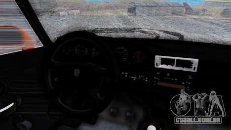 Porsche 993 GT2 RWB GARUDA para GTA San Andreas vista interior