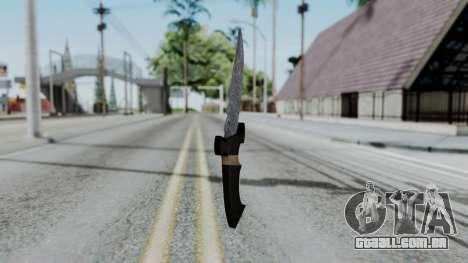 New Knife para GTA San Andreas segunda tela