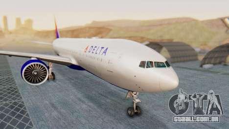 Boeing 777-200LR Delta Air Lines para GTA San Andreas