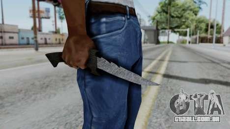 New Knife para GTA San Andreas terceira tela