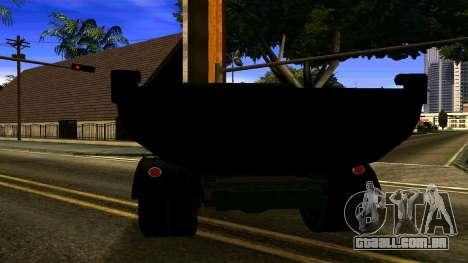 ZIL 130 para GTA San Andreas traseira esquerda vista