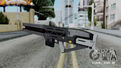 GTA 5 Railgun - Misterix 4 Weapons para GTA San Andreas terceira tela
