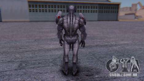 Marvel Future Fight - Ultron para GTA San Andreas terceira tela