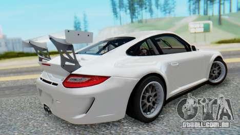 Porsche 911 GT3 Cup para GTA San Andreas esquerda vista