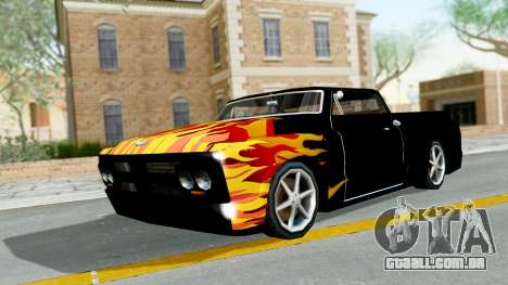 Blade New PJ para GTA San Andreas esquerda vista