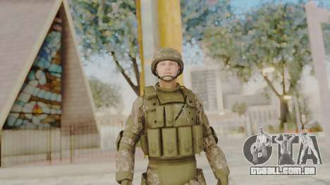 US Army Urban Soldier from Alpha Protocol para GTA San Andreas