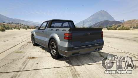 GTA 5 GTA 4 Contender traseira vista lateral esquerda
