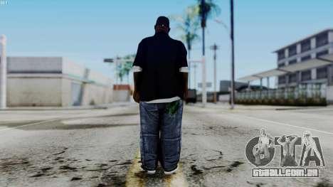 New Big Smoke para GTA San Andreas terceira tela