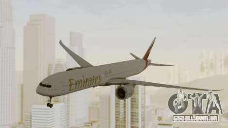 Boeing 777-9x Emirates Airlines para GTA San Andreas