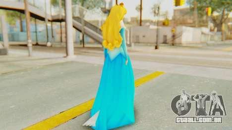 Sleep Beauty Aurora para GTA San Andreas terceira tela