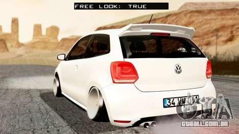 Volkswagen Polo GTI para GTA San Andreas esquerda vista