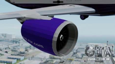 C919 UrumqiAir para GTA San Andreas vista direita