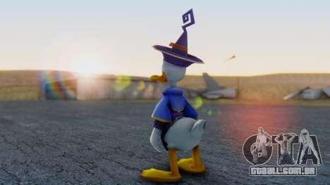 Kingdom Hearts 1 Donald Duck Disney Castle para GTA San Andreas terceira tela
