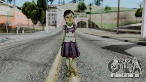 Bioshock 2 - Little Sister para GTA San Andreas segunda tela