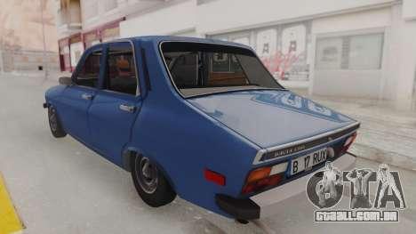 Dacia 1310 TX 1984 para GTA San Andreas vista direita
