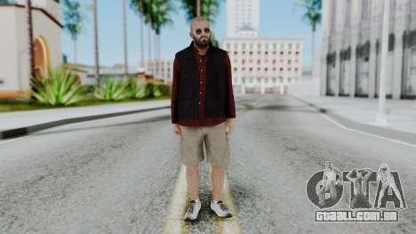 Hunter Costume Michael para GTA San Andreas segunda tela